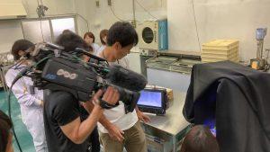9月3日グミの日ということで、NHK(まるっと)で生中継していただきます!