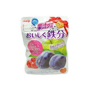 果汁グミ おいしく鉄分プルーンミックス